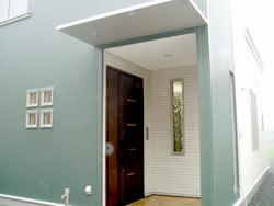 モデルハウス玄関