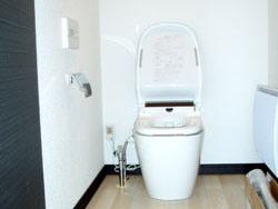モデルハウストイレ(アラウーノ)
